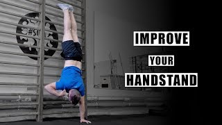 8 Exercises to IMPROVE Your HANDSTAND - Tabata Workout