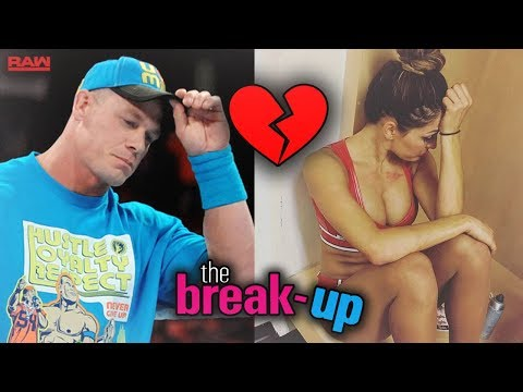 IS JOHN CENA AND NIKKI BELLA THE LATEST WWE COUPLE TO BREAK UP?!? (JOHN CENA COMMENTS)