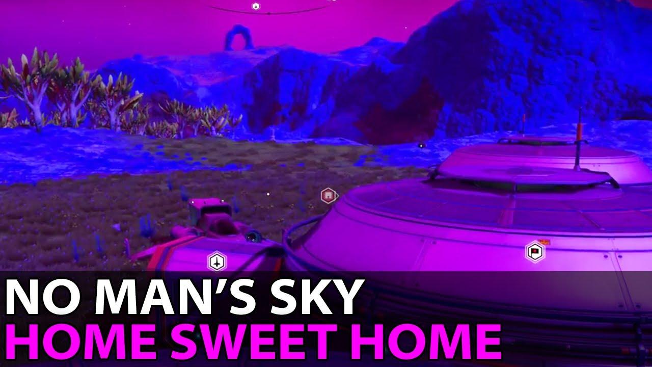no man's sky - home sweet home 🚀 2017-07-19 - youtube