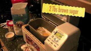 How To Make Bread Using Bread Machine - Raisin Bread