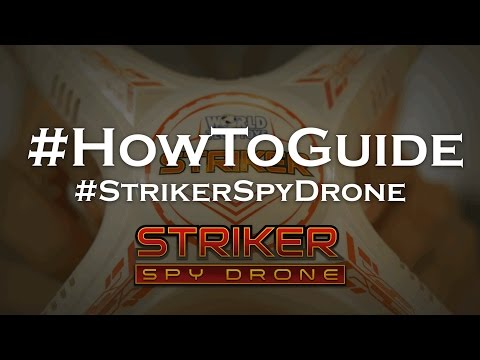 Everything Guide For The Striker Spy Drone
