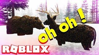 Roblox Wild Forest Bear Hunts Hirsch - Tier Spiele auf Roblox