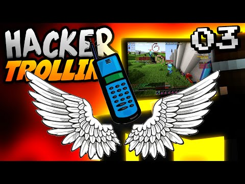 Minecraft HACKER TROLLING - FLY HACKER JOINS CALL!! - Ep. 3 ( Minecraft 1.8 Hacks )