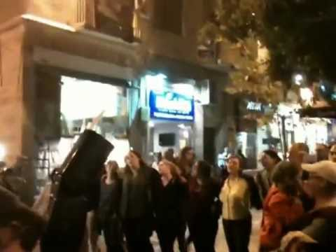 נשות הכותל - שמע ישראל בכיכר ציון Women of the Wall Flashmob Jerusalem