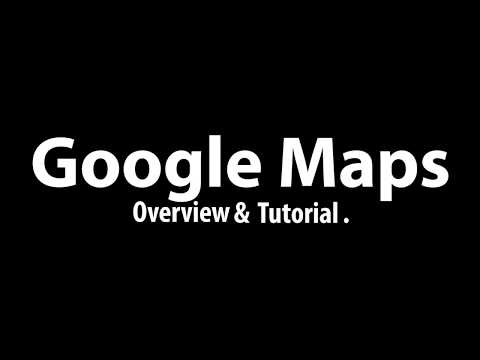 Google Maps Overview and Tutorial for Tokyo thumbnail