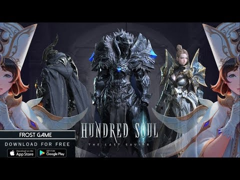 Handred Soul Android Gameplay New Action RPG Game Обзор Новинки на Андроид