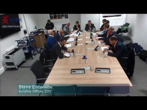Customer & Corporate Services Scrutiny Management Committee, 13 November 2017