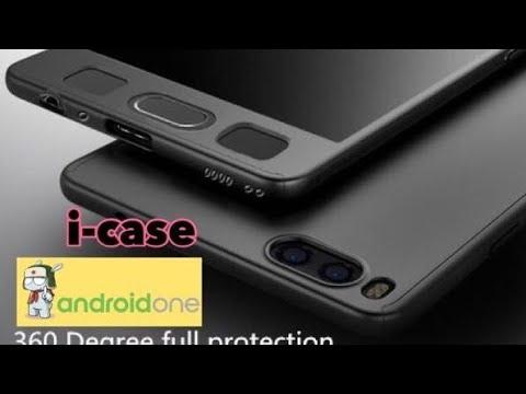 Xiaomi Mi A1 360 protect case - cover case 3 in one