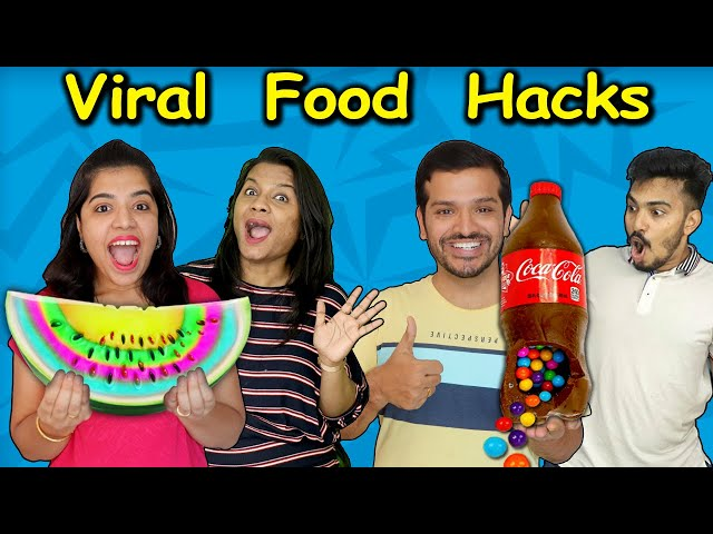 Testing Viral Food Hacks | Easiest Viral hacks | Hungry Birds