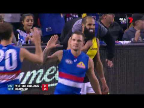 Round 7 AFL - Western Bulldogs v Richmond Highlights