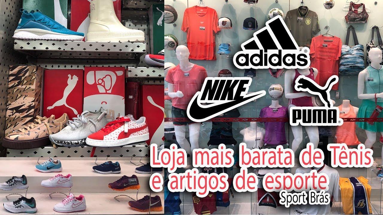 c0e37872f Brás Loja de Tênis Original mais Barata - Sport Brás - YouTube