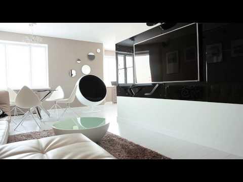 Дизайн интерьера. Квартира в современном стиле