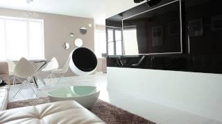 Дизайн интерьера. Квартира в современном стиле(Студия дизайна интерьера Антона Печёного - http://pechenyi.com/ Этот интерьер был опубликован в популярном журнале..., 2013-03-04T19:03:53.000Z)