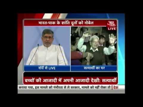 Live: Kailash Satyarthi, Malala Yousafzai receive Nobel Peace Prize 2014