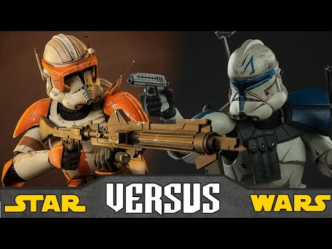 Capitán REX vs Comandante CODY - Star Wars Versus