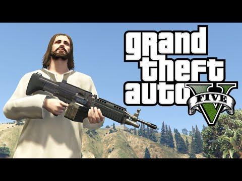 SUPER JESUS MOD!  Grand Theft Auto 5 Mod!