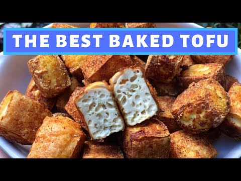 THE BEST BAKED TOFU