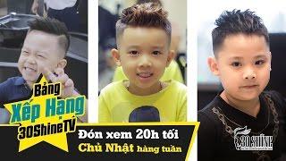 Bảng Xếp Hạng 30Shine | Top 3 Kiểu Tóc Dành Cho Bé Hot Nhất Mùa Hè 2017