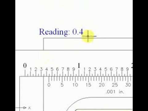 How to Read a Vernier Caliper - YouTube