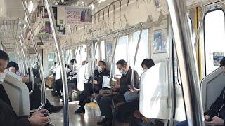 Япония онлайн видео, пригородная электричка, Авто из Японии в Японии