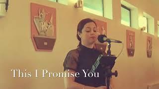 This I Promise You (Katie Hughes Wedding Singer) YouTube Thumbnail