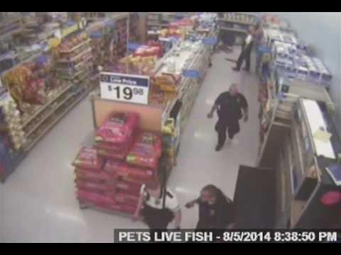 Full video of John Crawford in the Walmart shooting of August 5, 2014