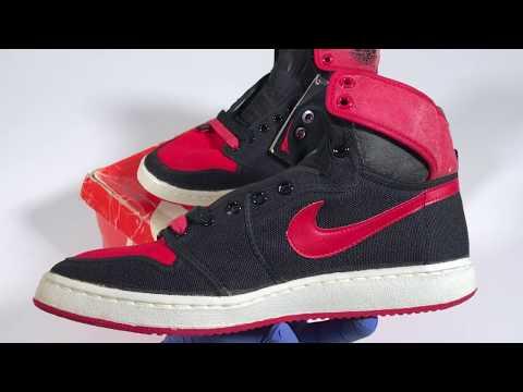 439931136d27be Black and Red Vintage Original Air Jordan 1 AJKO from 1985