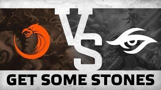 GET SOME STONES - TNC vs Secret @ SL I-League StarSeries S3