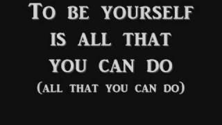 AudioSlave- Be Yourself Lyrics