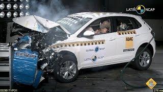 Volkswagen Virtus (Polo) Crash Test Latin NCAP (4 Airbags)