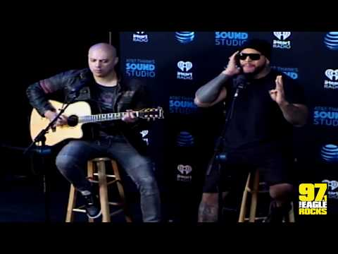 "Bad Wolves ""Zombie"" - 97.1 The Eagle AT&T THANKS Sound Studio"