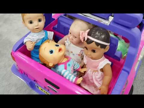 Thumbnail: Babies -The Wheels on The Bus Song