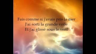 Garou et Céline Dion - Sous le vent - Parole