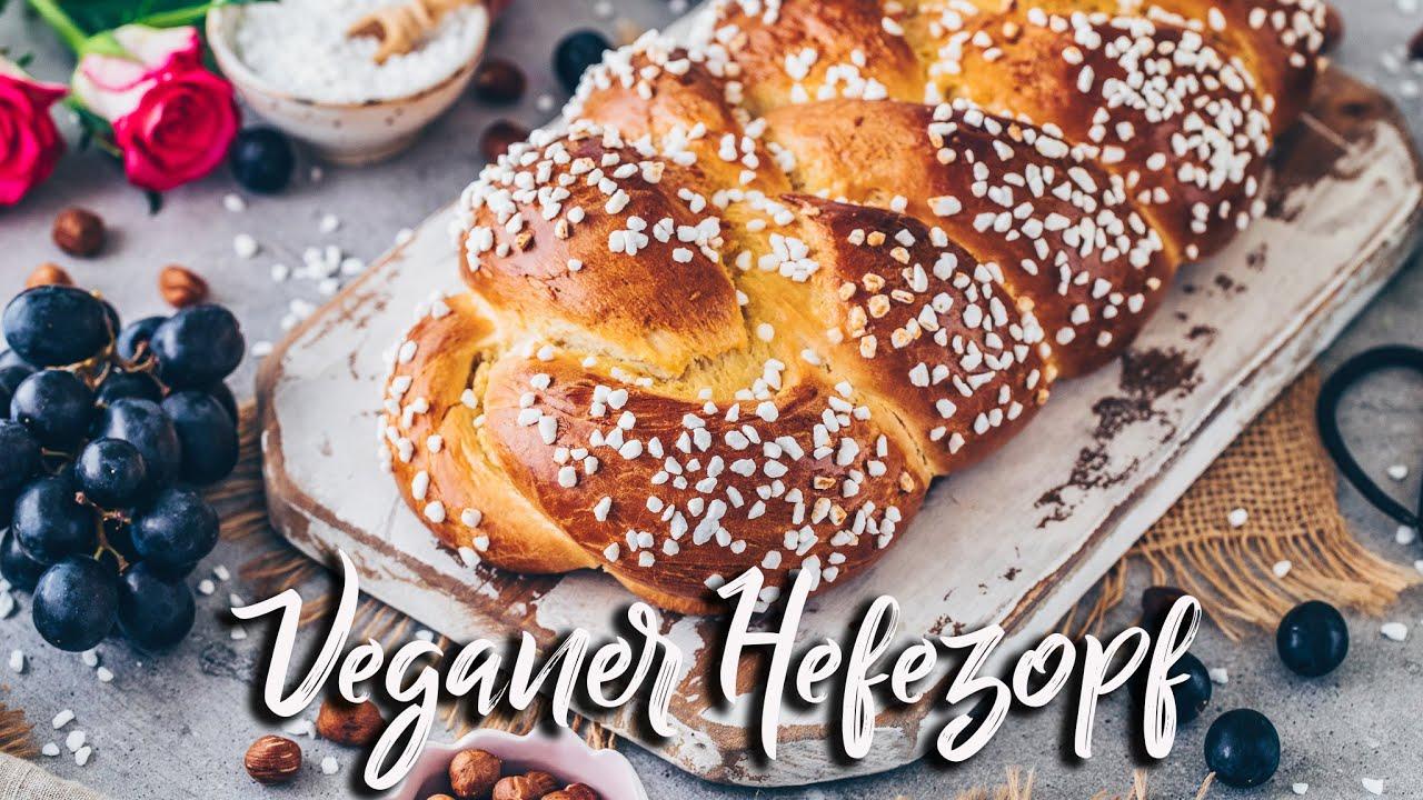 Veganer Hefezopf ♡ Fluffiges Osterbrot selber backen ♡ *Brioche Grund-Rezept ohne Eier*
