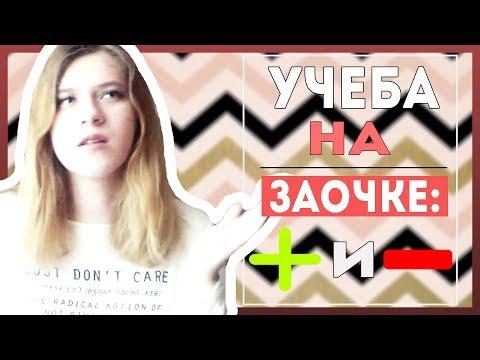 ПЛЮСЫ и МИНУСЫ учебы на ЗАОЧКЕ/ЗАОЧНОЙ ФОРМЕ ОБУЧЕНИЯ В ВУЗЕ