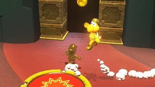 Golden Mario Beats Golden Koopa in a Race - Super Mario Odyssey