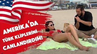 Amerikada Türk Kliplerini Canlandırdım - Hayrettin