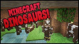 Minecraft Dinosaurs! || 491 || Cows Hideout