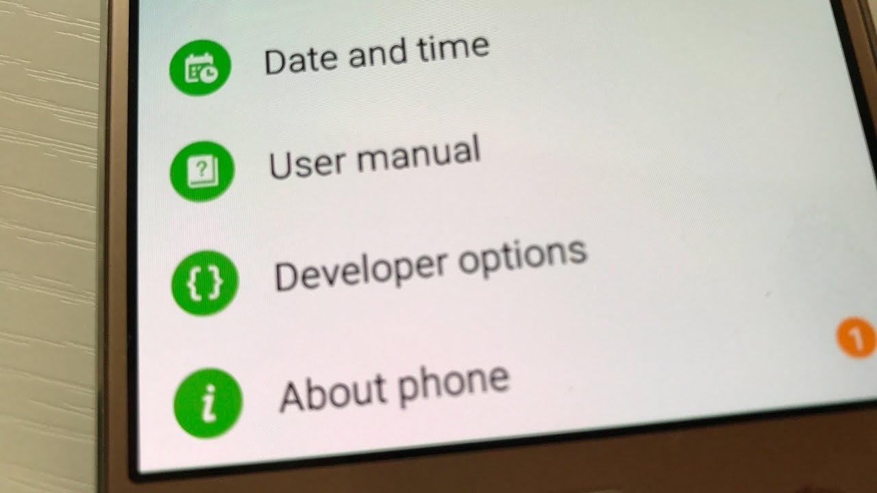 Galaxy J2/J3/J4/J5/J6/J7: How to Enable Developer Options (Debugging