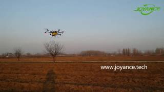 Joyance Sprayer Drone at China Agricultural Machinery Promotion Show 1