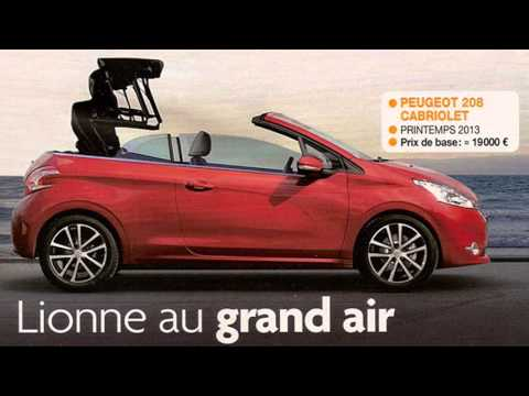 peugeot 208 cc - youtube