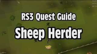 RS3: Sheep Herder Quest Guide - RuneScape