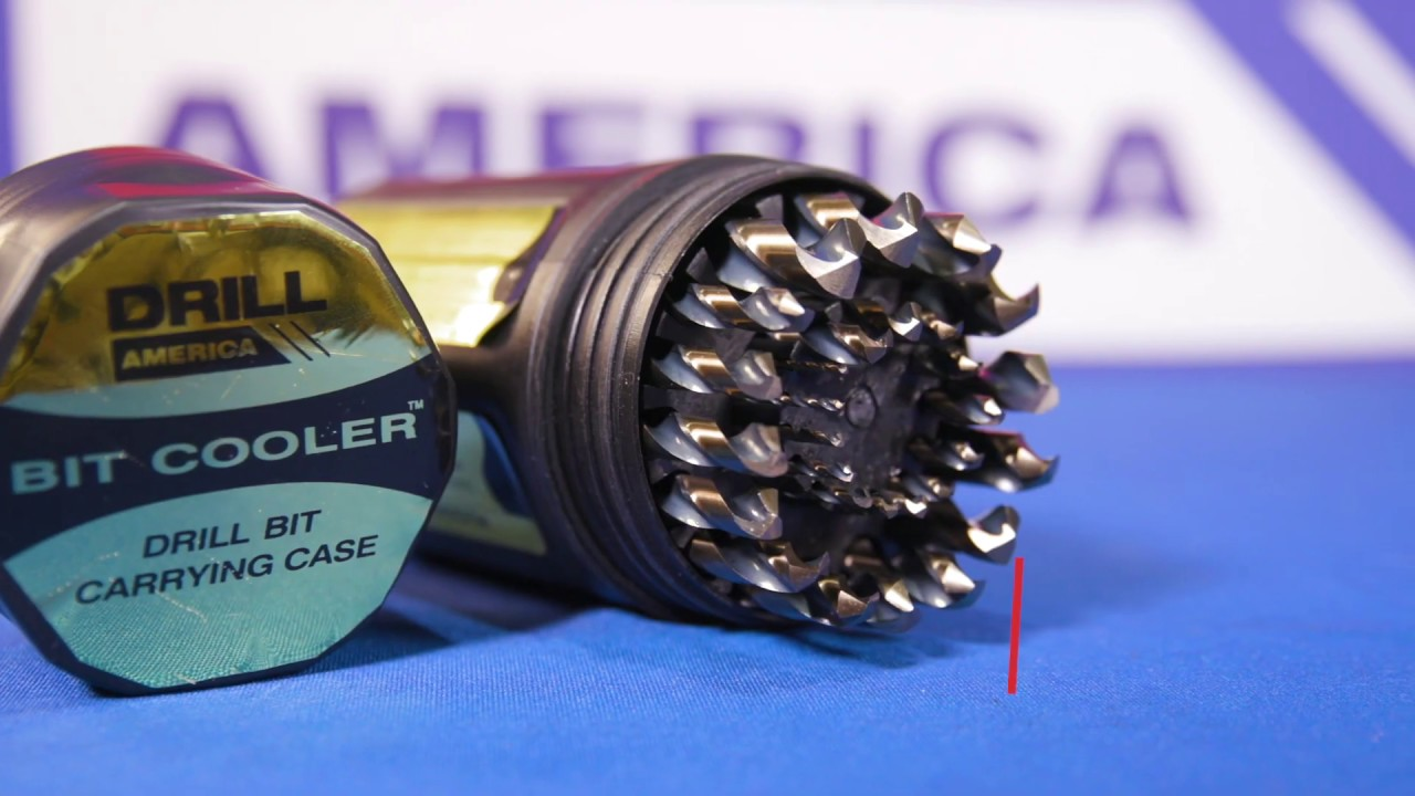D//an Series Pack of 12 Drill America #54 High Speed Steel Black Oxide Drill Bit