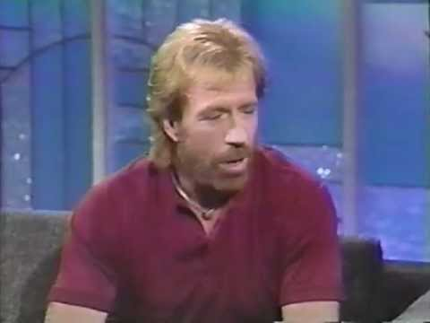 Chuck Norris - The Arsenio Hall Show - 1991