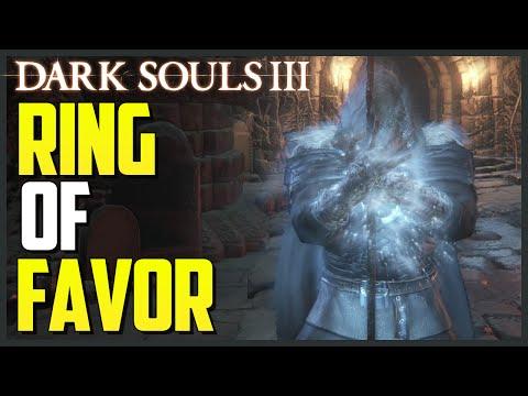 Dark Souls 3: Ring Of Favor Location (Best Ring!!!)