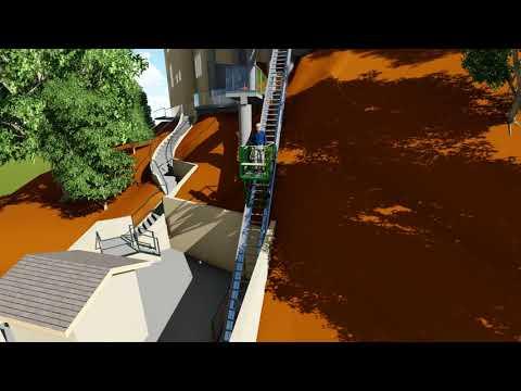 Hill Hiker Lift 3D Model