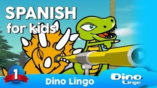 Spanish DVDs for kids - Learning Spanish for children - Spanish language lessons