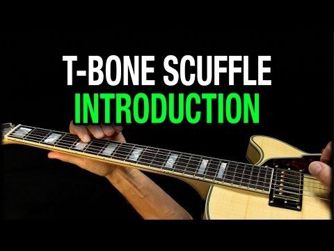T-Bone Scuffle - T-Bone Walker Style Guitar Lesson