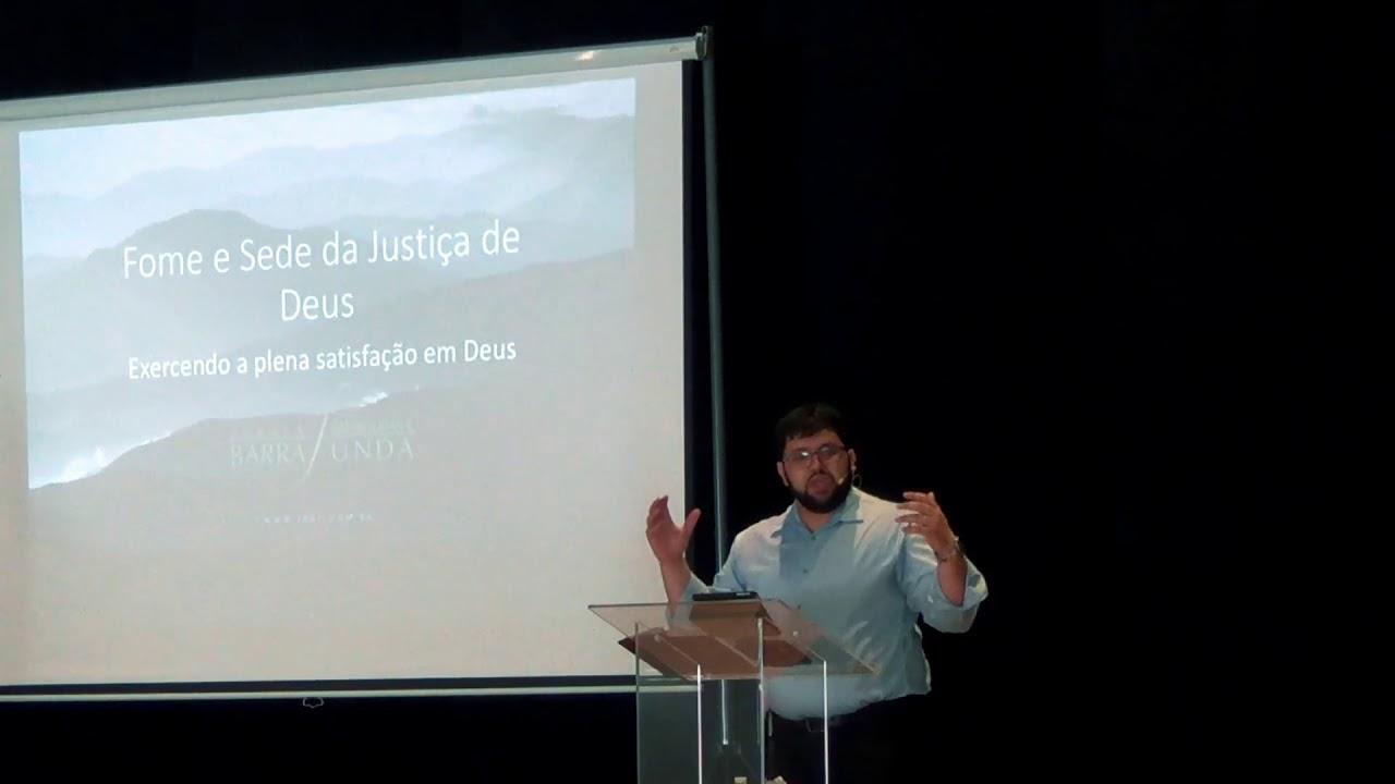 Exposição Bíblica em  Mateus 5 1-8  -  Bem Aventuranças - Pastor Jonatas Miranda