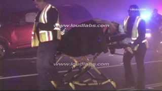 Traffic Collision / Downey   RAW FOOTAGE